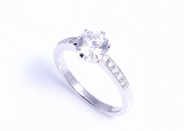 1ct brilliant cut diamond engagement ring. Engagement rings and fine jeweller Auckland