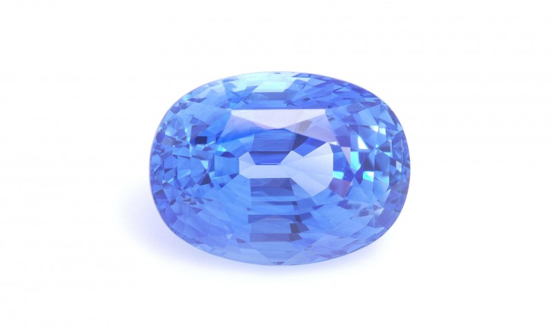 The Julian Bartrom gemstone; High quality Ceylonese sapphire for custom made jewellery.