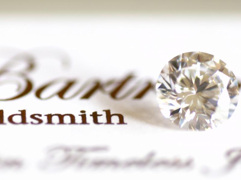 In a fine gemstone buying trip Julian Bartrom will buy brilliant cut diamonds and designer gemstone for custom jewellery design.