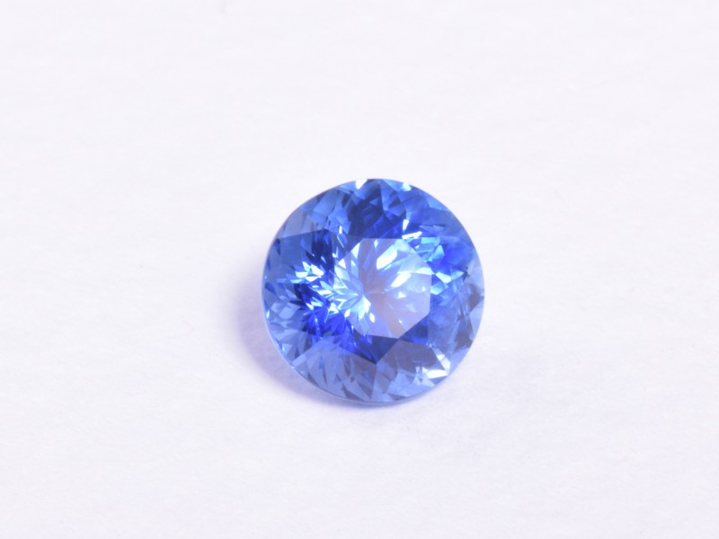The finest 1.4ct flower cut sapphire from Ceylon.