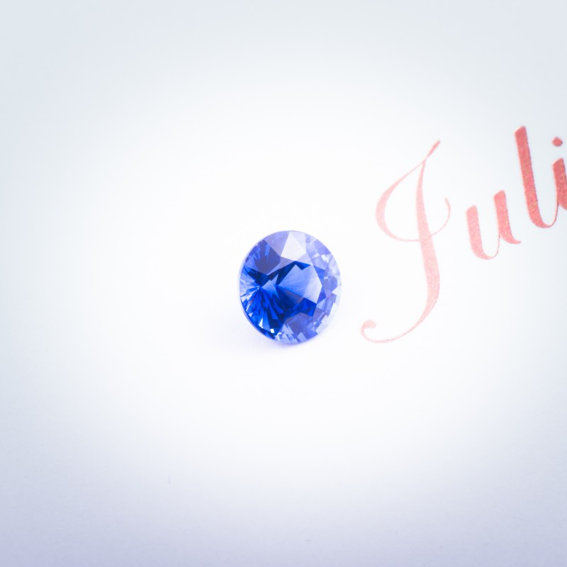 round sapphire and found this 2.23ct blue celanese sapphire